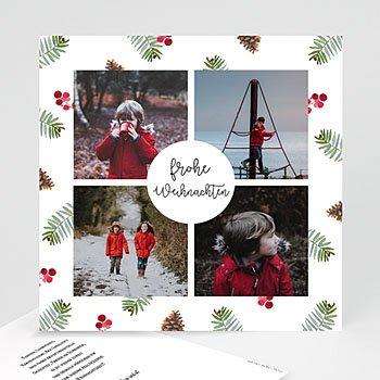 Weihnachtskarten Gestalten Günstig.Glücksbringer