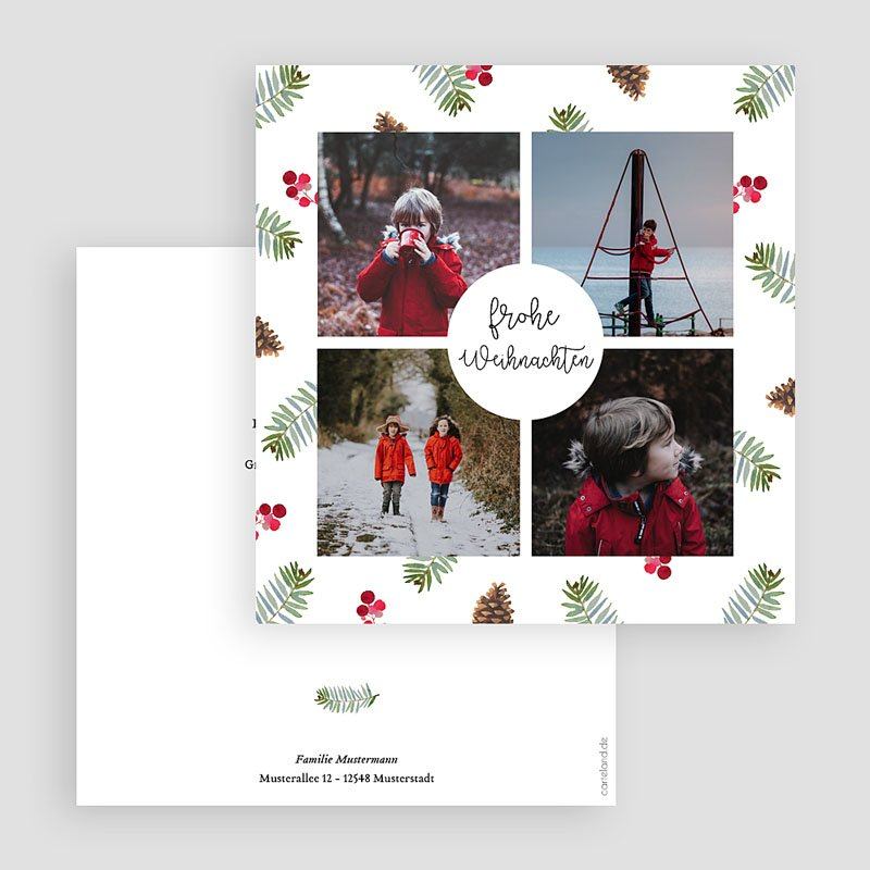Weihnachtskarten - Glücksbringer 68982 thumb