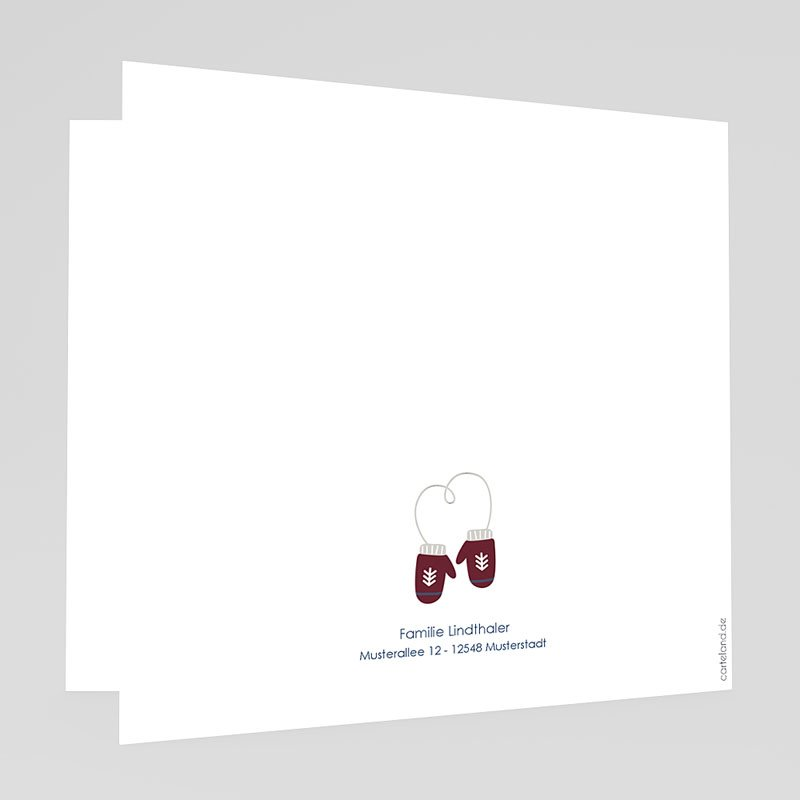 Weihnachtskarten - Wollpullover 69000 thumb