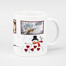 Fototassen Weihnachten Schneemann