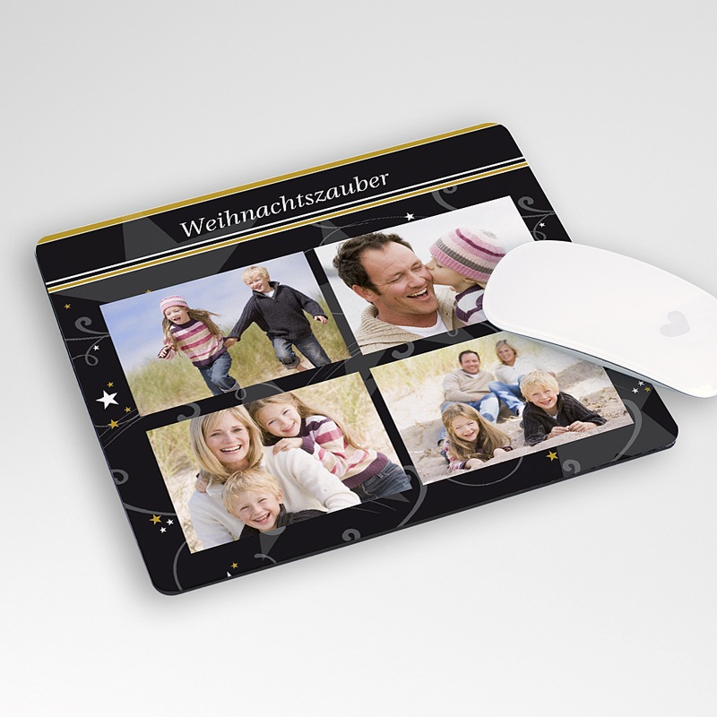 Personalisierte Foto-Mousepad Sternenzauber international
