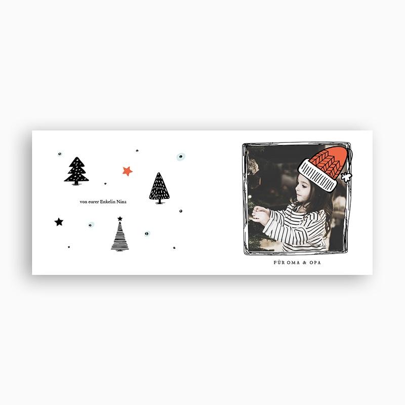 Fototasse Weihnachten Bäumchen pas cher