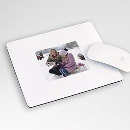 Foto-Mousepad Schneepyramide