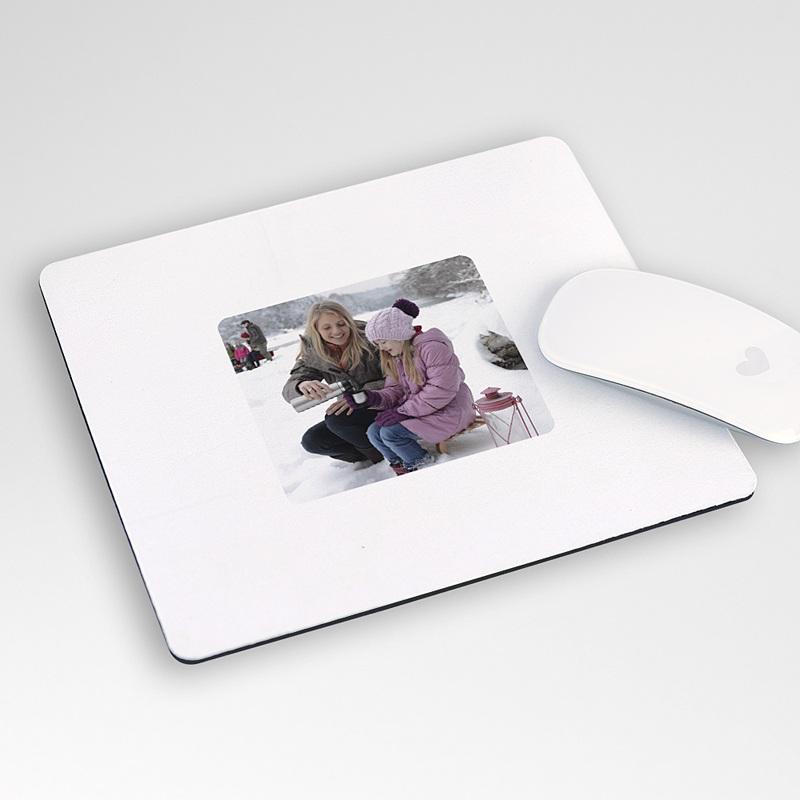 Personalisierte Foto-Mousepad Schneeball