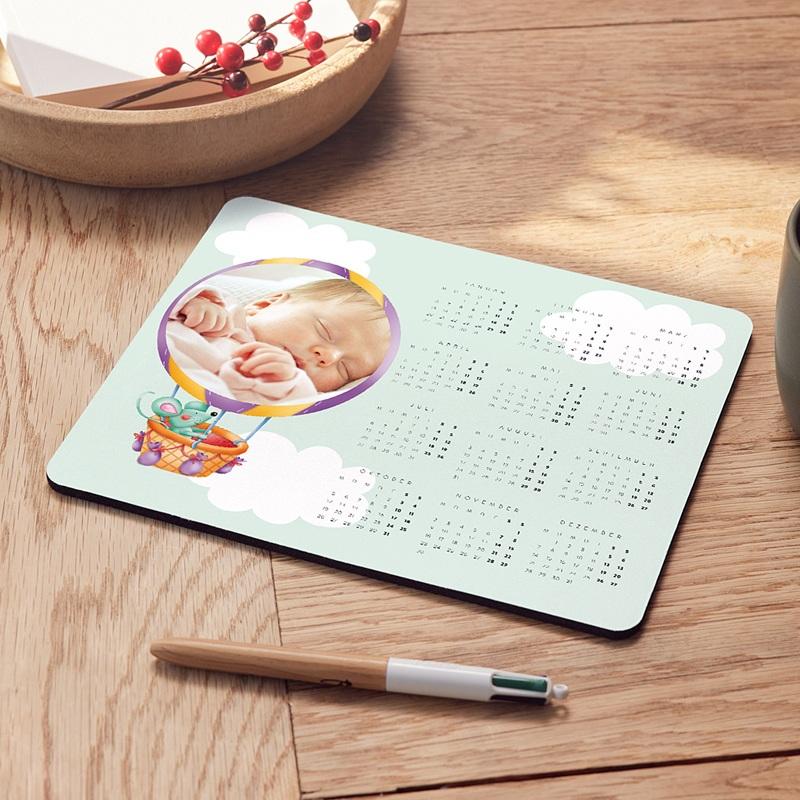 Personalisierte Foto-Mousepad Eine Ballonfahrt