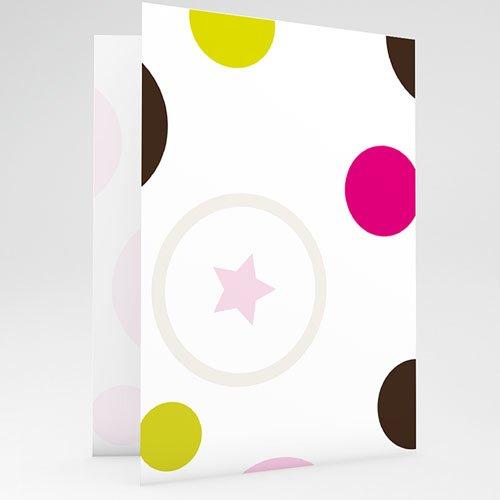 Geburtskarten für Mädchen - Luftblasen  69202 thumb