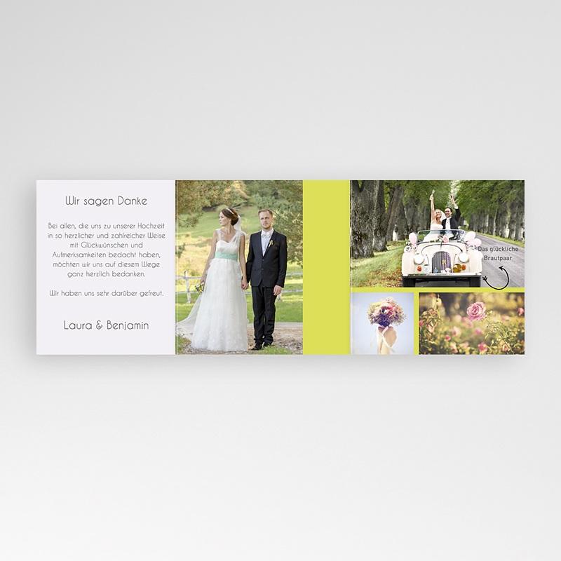 Danksagungskarten Hochzeit  Liebespfeil