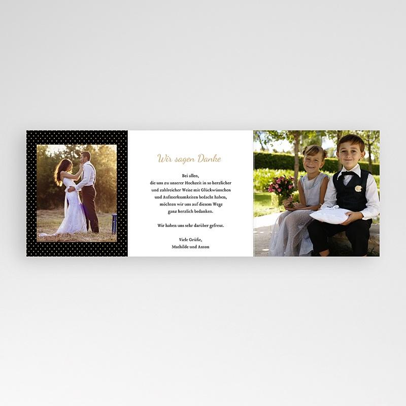 Danksagungskarten Hochzeit  Tandem