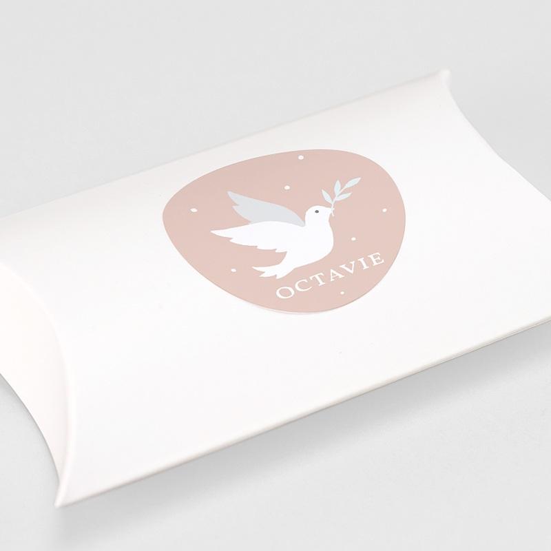 Aufkleber Kommunion Holy Spirit Rose gratuit