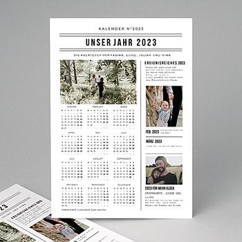 Kalender Jahresplaner - Jahresrückblick - 0