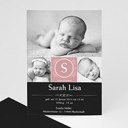 Geburtskarte Johanna - 1