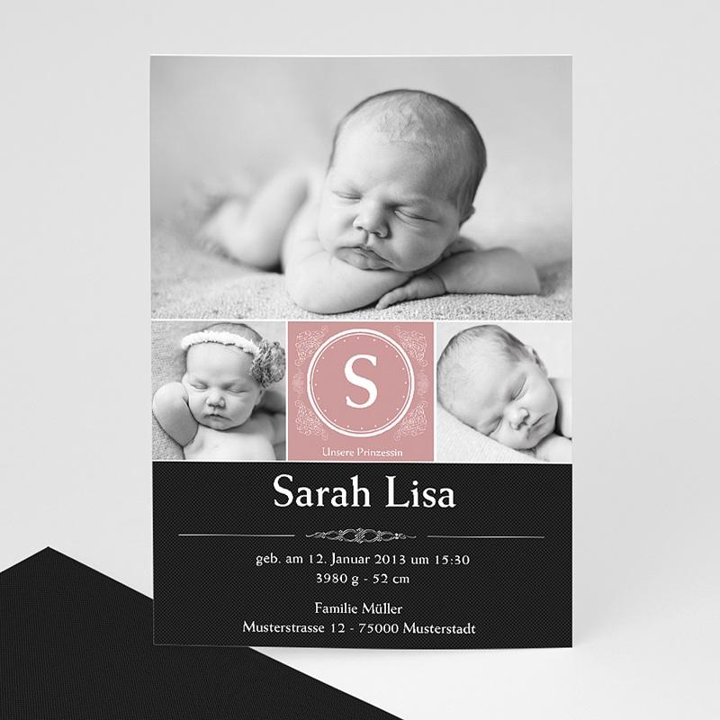 Geburtskarten für Mädchen Hanna