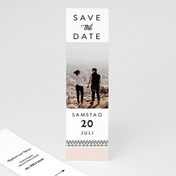 Save The Date  Boho Motiv