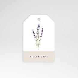 Anhänger Hochzeit Lavendel