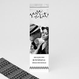 Save The Date Karten Hochzeit - Ethnisch - 0