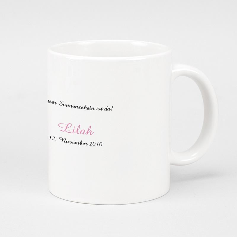 Personalisierte Fototassen Milchkaffee