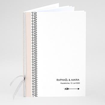 Kirchenheft zur Hochzeit individuell gestalten - Boho Motiv - 0