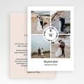 Dankeskarten Hochzeit mit Foto - Boho Krone 69738 thumb