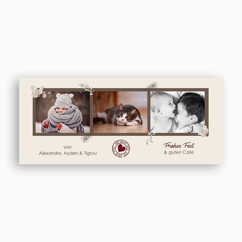 Fototasse Weihnachten - Retro Weihnachten 69773 thumb