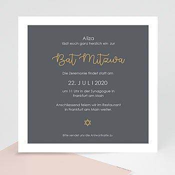 Bar Mitzwah Einladung - Brauchtum - 0