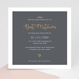 Karten Bar Mitzvah Brauchtum