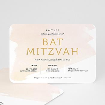 Bar Mitzwah Einladung - Rosenwasser - 0