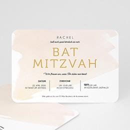 Karten Bar Mitzvah Rosenwasser