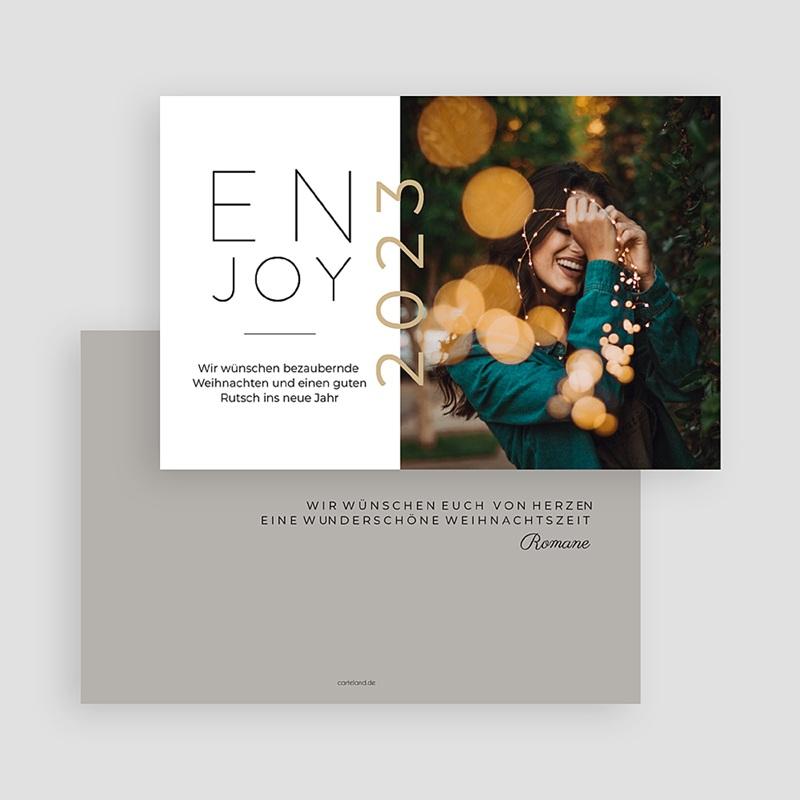 Weihnachtskarten - Enjoy 69922 thumb
