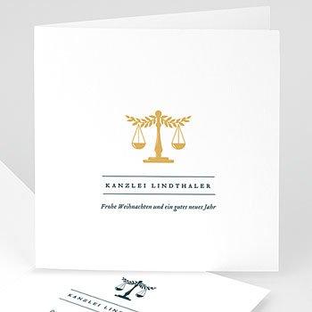 Weihnachtskarten - Recht und Gerechtigkeit - 0