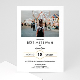 Karten Bar Mitzvah Liara