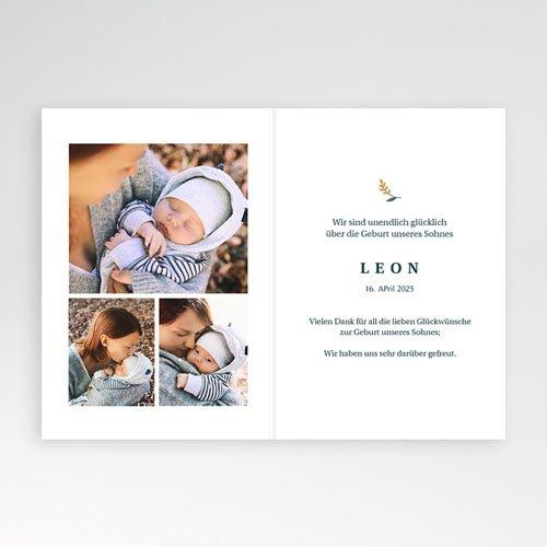 Geburtskarten für Jungen Liberty Heft pas cher