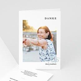 Karten Décès Andenken