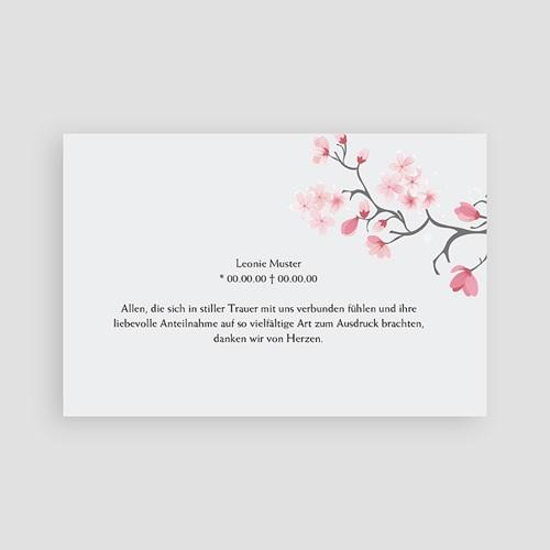 Weltlich Dankeskarten Trauer Tröstliches Adieu pas cher