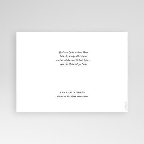 Dankeskarten Trauer Stille pas cher