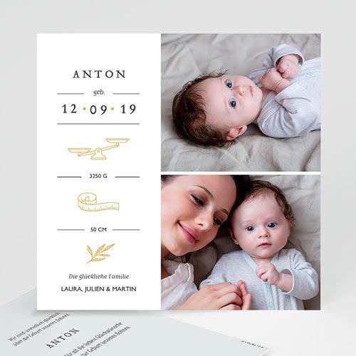 Geburtskarten für Jungen Neues Leben