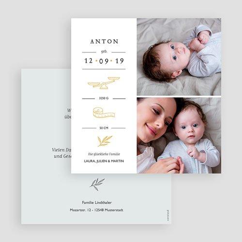 Geburtskarten für Jungen Neues Leben gratuit