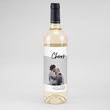 Flaschenetiketten Wein Mastic Majestic
