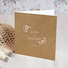 Karten Hochzeit Florale Krone