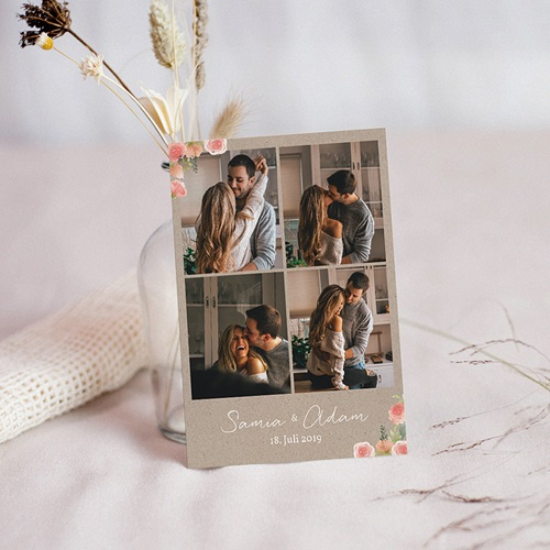 Save The Date Karten Hochzeit Rustic Chic