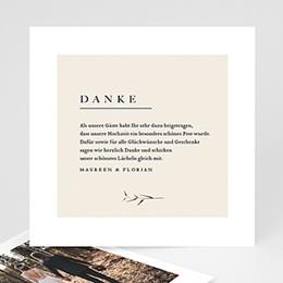 Dankeskarten Hochzeit Landhochzeit Naturhochzeit