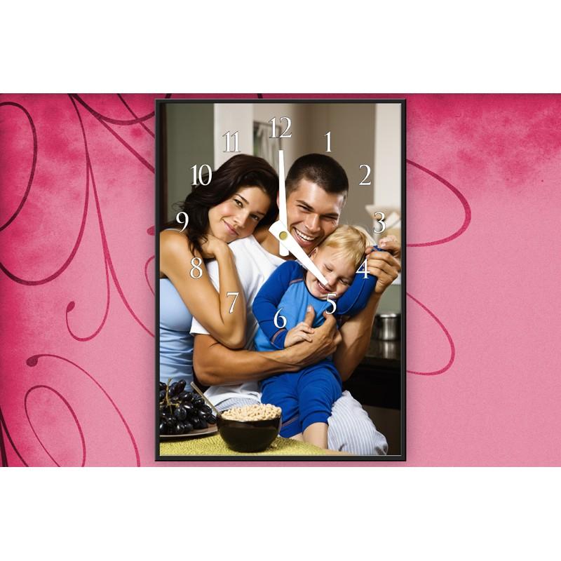 Personalisierte Fotouhr Bildreich