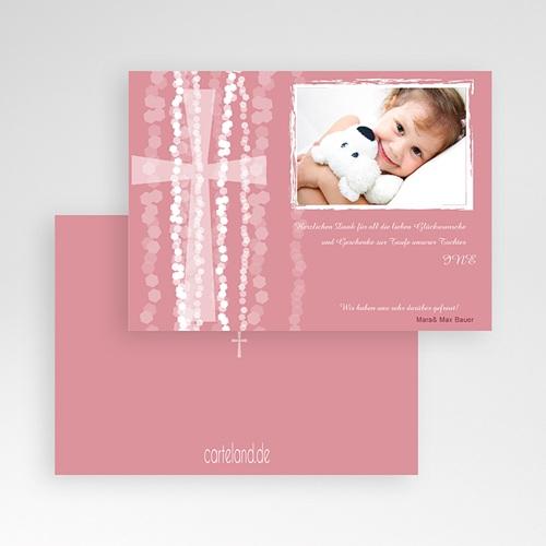Dankeskarten Taufe Mädchen - Eve 7110 thumb