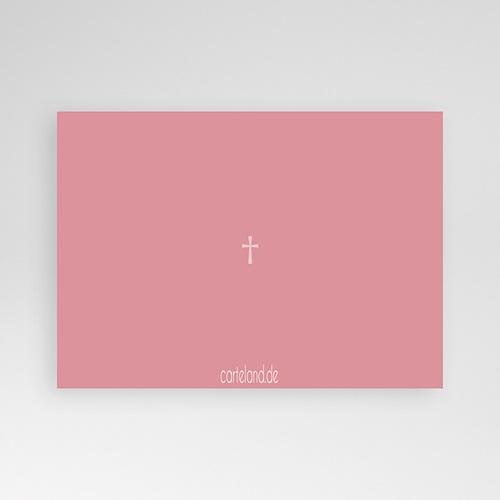 Einladungskarten Taufe für Mädchen Pink pas cher
