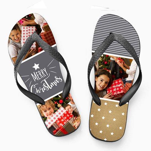 Flip-Flop mit Foto Flip Flop Christmas