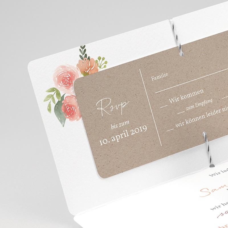 Einladungskarten Landhochzeit - Rustic Chic 71197 thumb