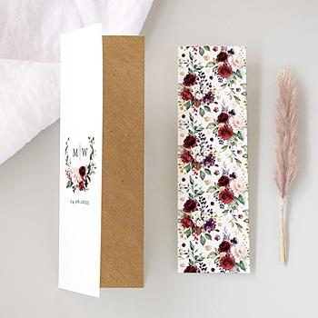 Einladungskarten Hochzeit  - Marsala Krone - 0