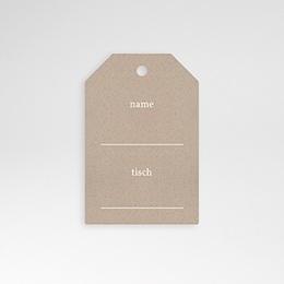 Tischkarten Hochzeit Rustic Chic