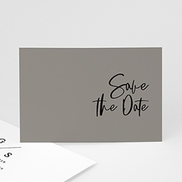 Save The Date  Brush Schrift