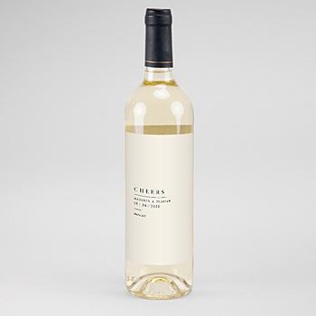 Flaschenetiketten Wein Naturhochzeit