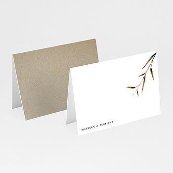 Tischkarten Hochzeit - Naturhochzeit - 0